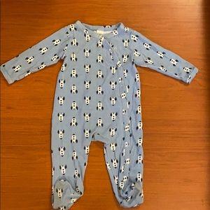 Nordstrom Baby onesie with footies